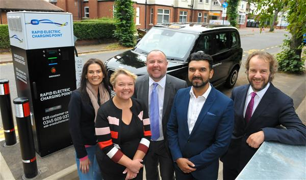 """Launch of """"Go Electric Taxi"""" scheme"""