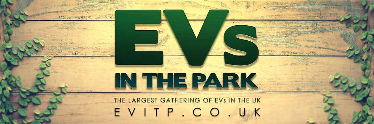 Advertisement of EVs in the Park 2019